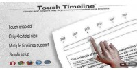Timeline touch