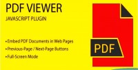 Viewer pdf javascript plugin