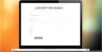 Web javascript grabber