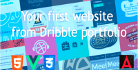 Website your portfolio dribble from