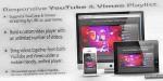 Youtube responsive vimeo playlist