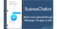 Messenger businesschatbot bot backend for business your