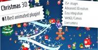 3d christmas jquery plugin
