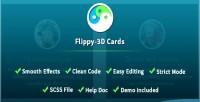 3d flippy fold cards