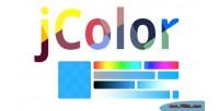 A jcolor picker color jquery