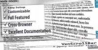 A venscrollbar plugin scrollbar jquery