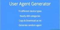 Agent user generator