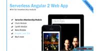 Angular 2 bootstrap 4 web app membership with template angular