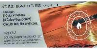 Badges flat vol. 1