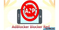Blocker adblocker red