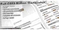 Buttons css3 generator
