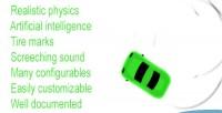 Car realistic system ai physics