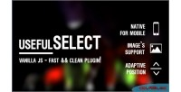 Clean usefulselect powerful js for plugin tag select customize