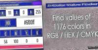 Color zi value finder