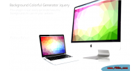 Colorful background generator jquery