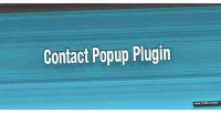 Contact jquery popup plugin