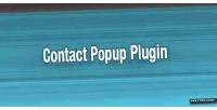 Contact jquery popup plugin