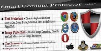 Content smart protector protection copy jquery