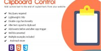 Control clipboard manipulate copy on clipboard