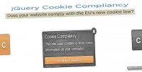 Cookie jquery compliancy