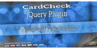 Cardcheck credit card validator guesser type and