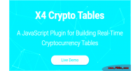 Crypto x4 plugin javascript tables