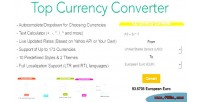 Currency top converter