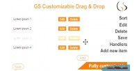 Customizable gs drop & drag