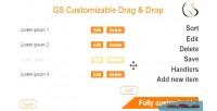 Customizable gs drop & drag