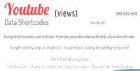 Data youtube api plugin jquery shortcodes