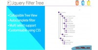 Filter tree tree with view multiselect & filtering