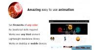 Fireworks js animation javascript realistic