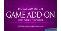 First person perspective jaguar addon engine game