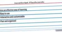 Flash javascript cards