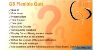 Flexible gs quiz