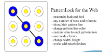 For patternlock the web