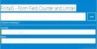 Form finita field limiter & counter