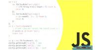 Framework javascript plugins