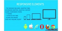 Framework responsive