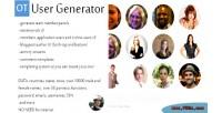 Generator user