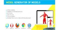 Generator webgl of models