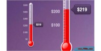 Goal jquery thermometer