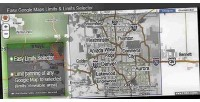 Google easy maps selector limits limits