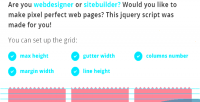 Grid jquery system