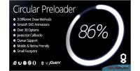 Html5 circular preloader