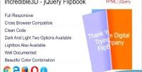 Jquery incredible3d flipbook