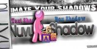 Nuvushadow jquery text & animation shadow box