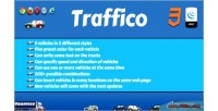 Jquery traffico animated plugin trucks cars