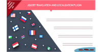 Jquery translation & localization plugin with api translate yandex