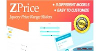 Jquery zprice sliders range price